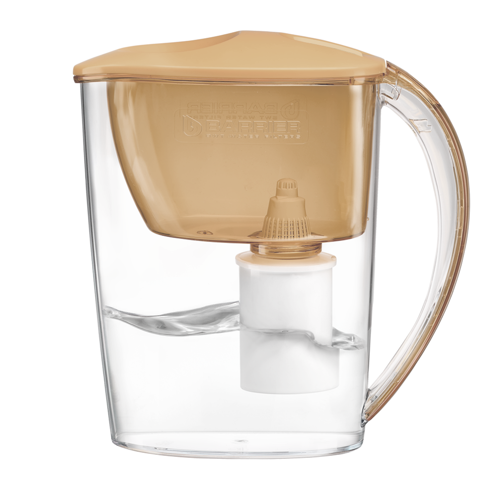 Фильтр-кувшин ТРЕНД карамельный капучино для воды , 2,5 л, карамельный капучино,  купить по цене 565 р | Фильтры-кувшины
